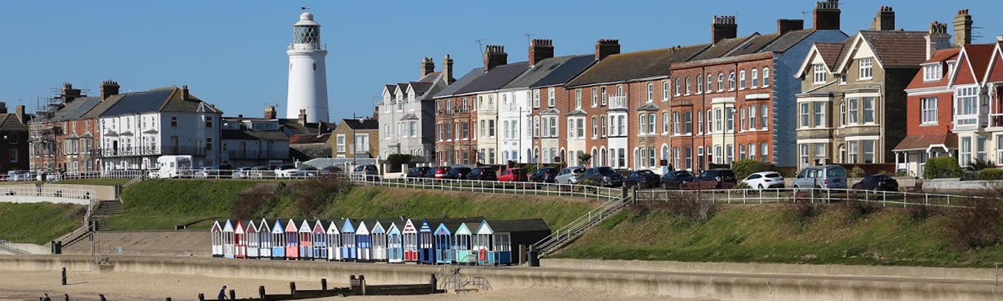 Holiday by the sea in Southwold